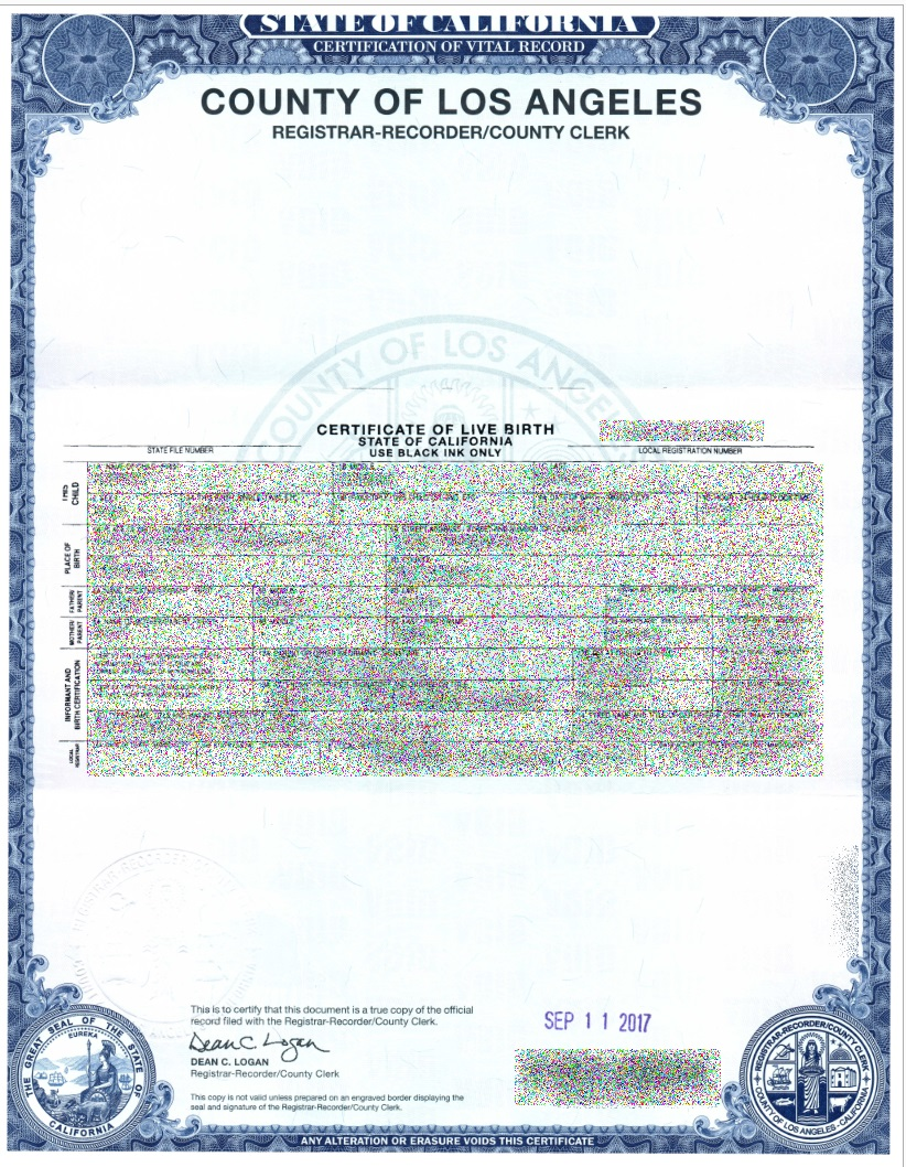 Pondering birth certificates x509 pki digital id and for Baby death certificate template